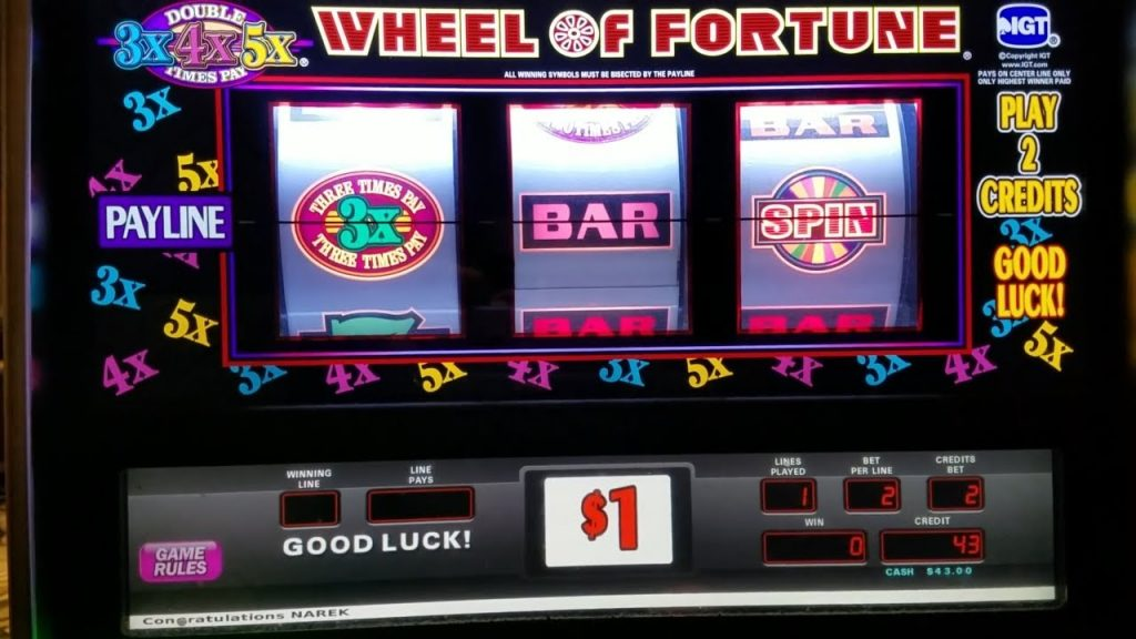 How to win at wheel of fortune slots